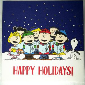 Peanuts Christmas Art Print